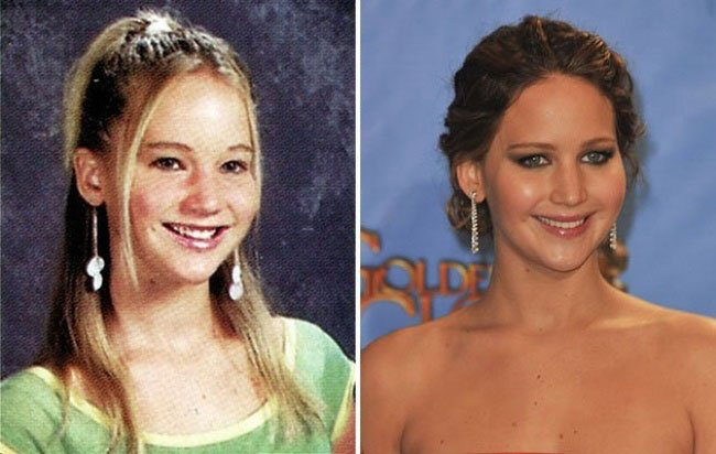 Jennifer Lawrence da giovane