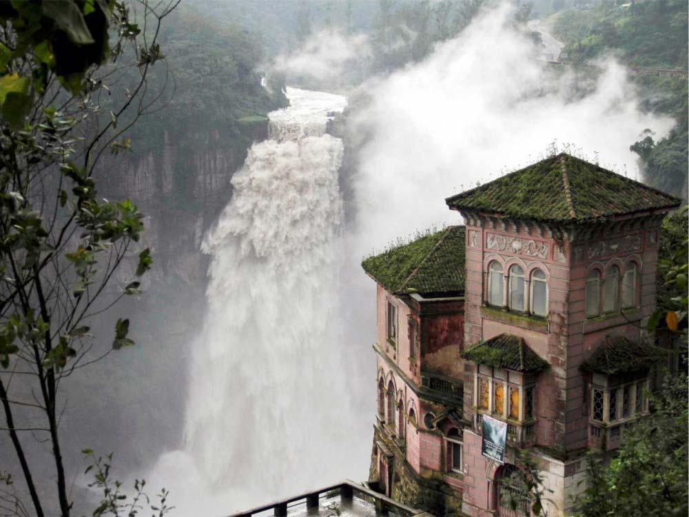 L'hotel del salto in Colombia, Foto di © travelsouthamerica