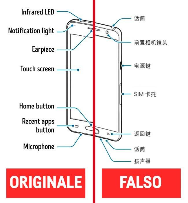 Manuale Iphone falso