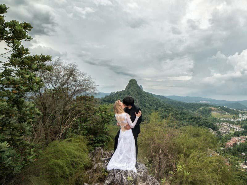 Monte Tabur, Malesia