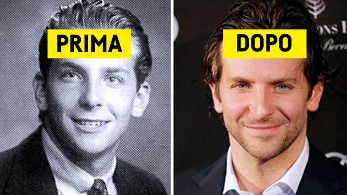 Foto dei personaggi famosi da giovani