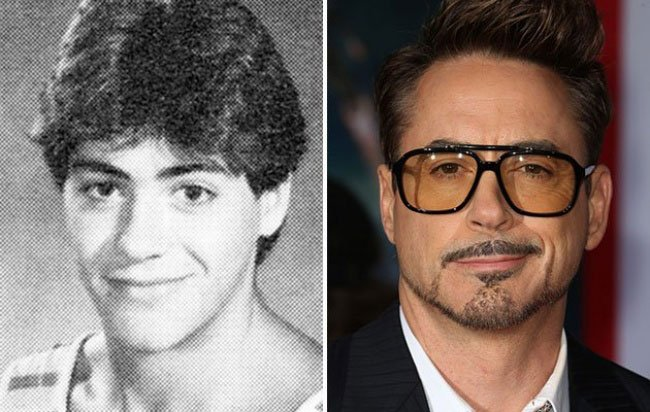 Robert Downey Junior da giovane