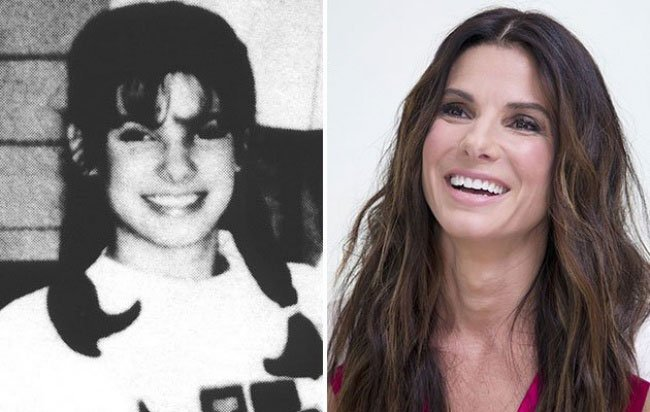 Sandra Bullock da giovane