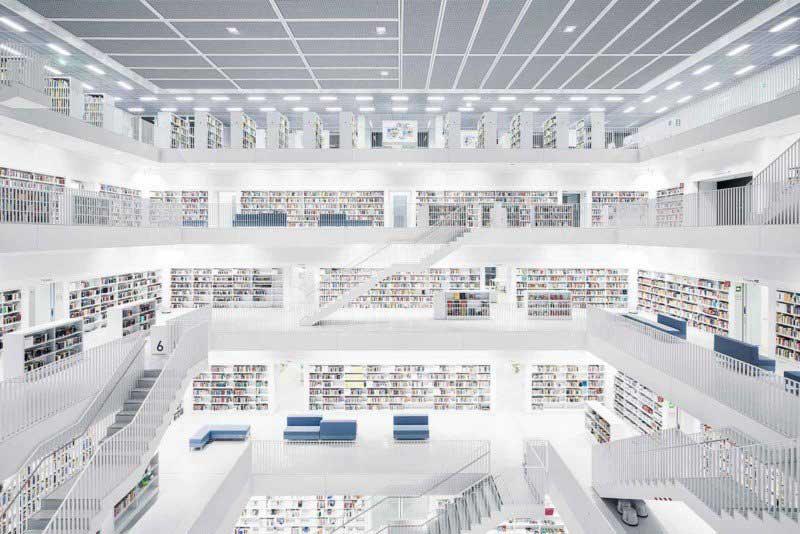 Biblioteca di Stoccarda, 2011