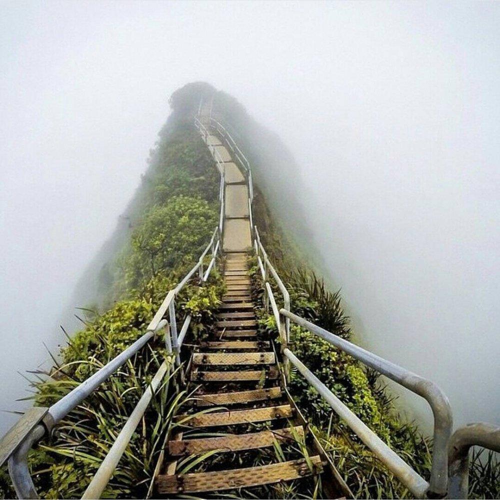 'Stairway to Heaven', Oahu, Hawaii di © migueltoralba