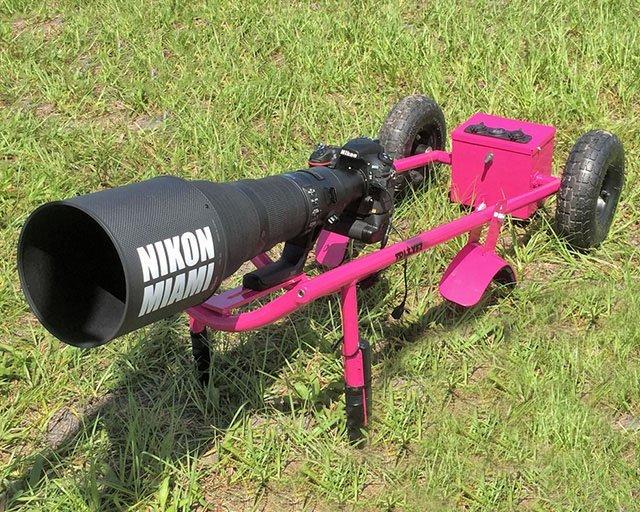 Teleobiettivo Nikon 800mm