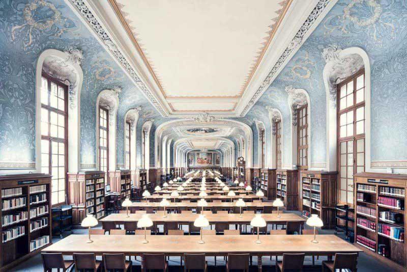 biblioteca Sorbonna Salle Jacqueline de Romilly, Paris, 1897