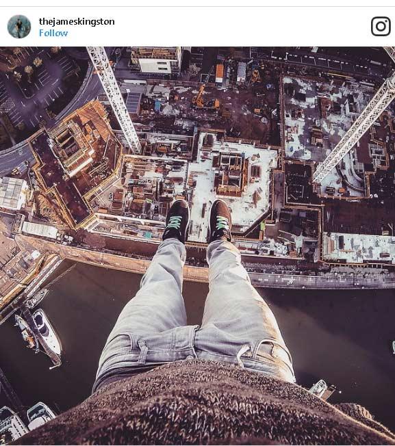 Selfie Palazzo grattacielo