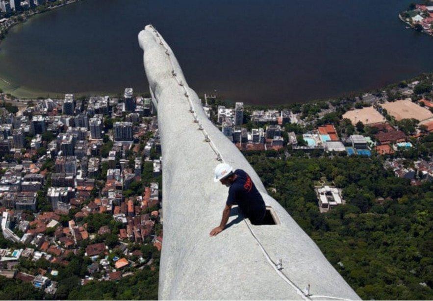Lavori pericolosi a rischio vertigine