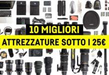 Migliori accessori di fotografia e attrezzatura fotografica