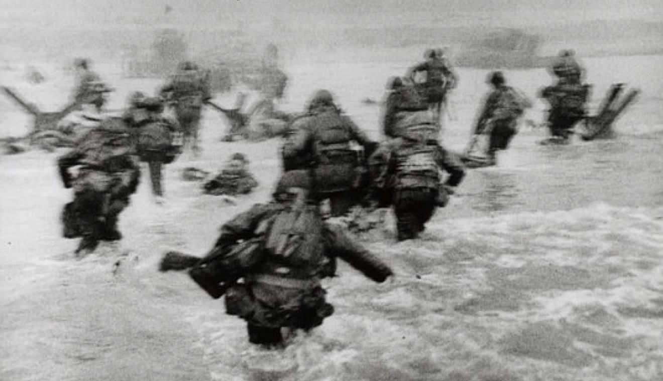 Robert-Capa, foto sbarco Normandia