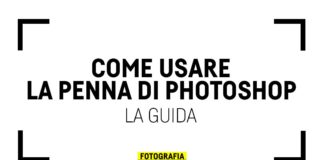 Come usare la penna di Photoshop