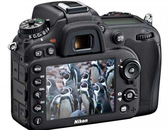 Nikon D7100 LCD