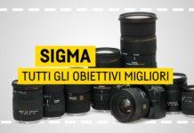 Tutti migliori obiettivi Sigma