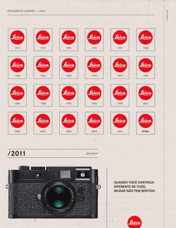 Pubblicita Logo Leica