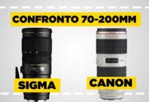 Confronto Sigma 70-200 vs Canon 70-200