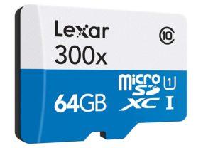 Micro sd Lexar da 64gb