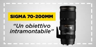 Recensione Sigma 70-200mm f2.8