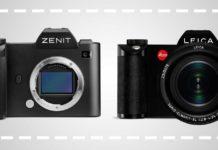 Zenit rebranding Leica