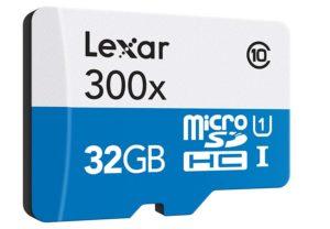 Micro sd Lexar da 32 Gb