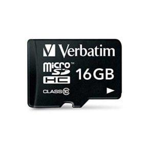 Micro sd Verbatin 16 gb al miglior prezzo