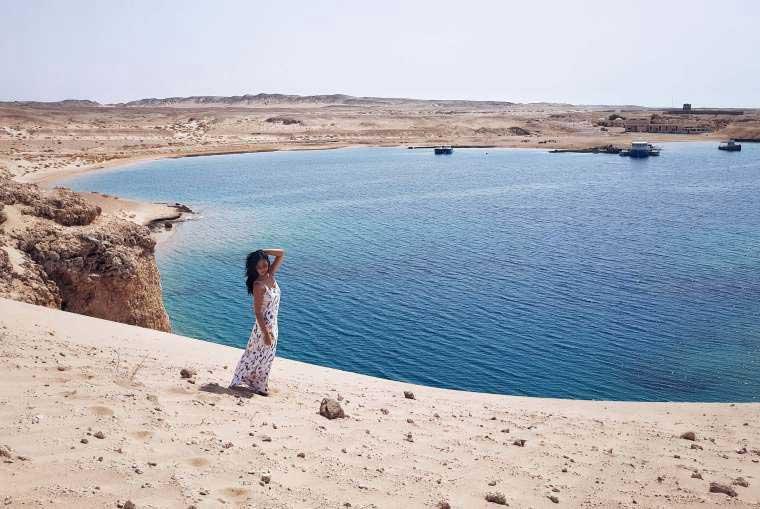 Federica Xotti di Travelliamo in Egitto