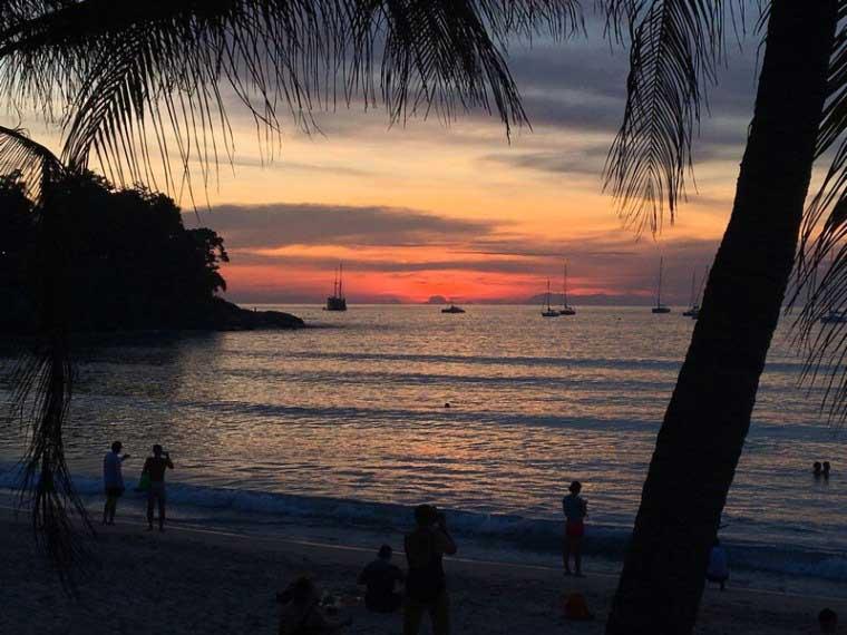 Tramonto a Phuket, foto di Travelliamo