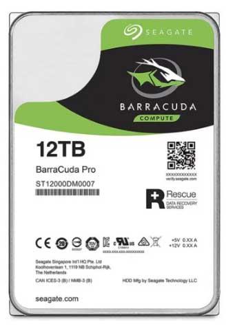 Barracuda 12Tb, hard disk più veloce del mondo