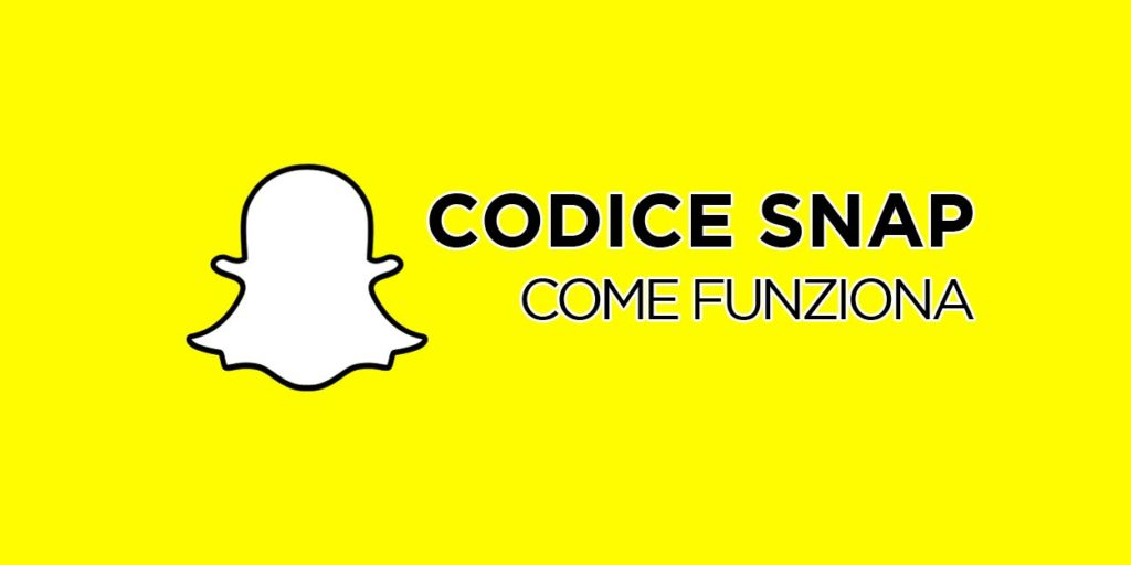Come funziona il codice Snapchat