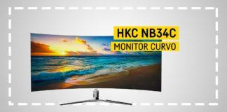 HKC NB34C Monitor Curvo