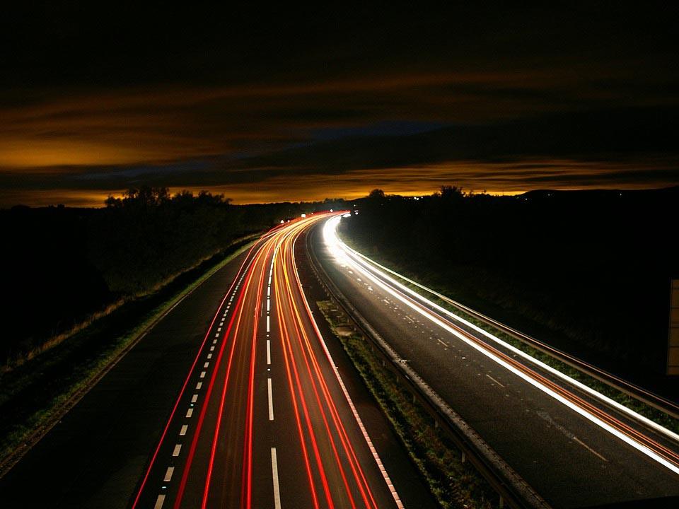 Modalita Bulb, luci nel traffico