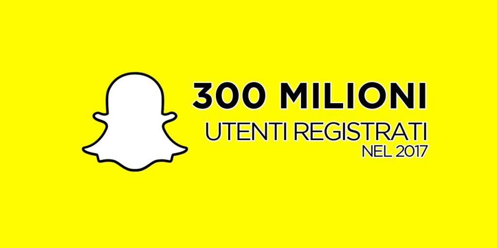 Statistiche Snapchat