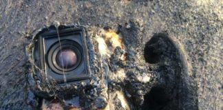 GoPro resiste alla lava