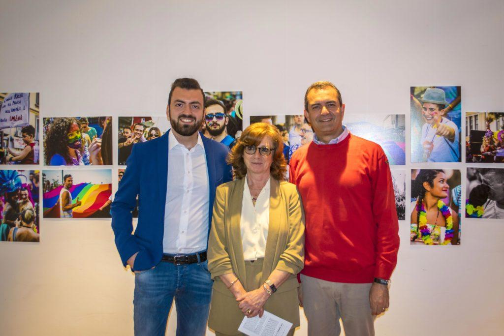 Marco Trancredi a Tenerife per Human (P)Rights con Luigi de Magistris
