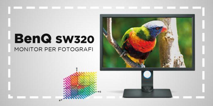 Monitor BenQ SW320 recensione e caratteristiche