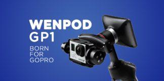 Wenpod Gp1, stabilizzatore per Gopro