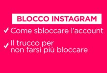 Blocco Instagram, come sbloccare l'account d'instagram