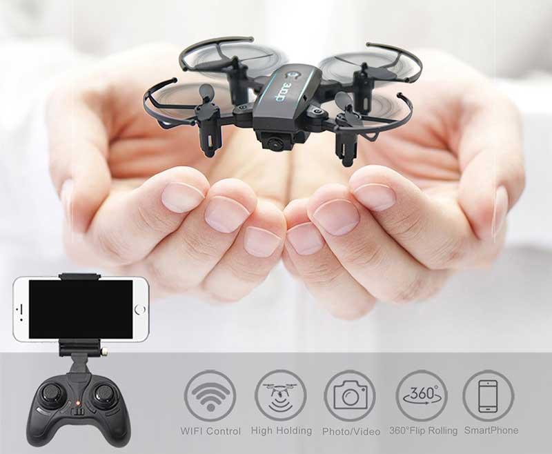 Linxtech IN1601, mini drone giocattolo caratteristiche