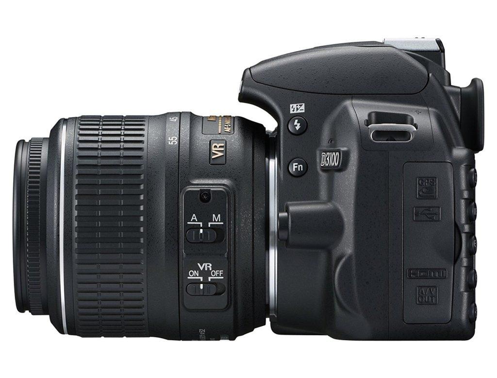 Nikon D3100: Obiettivi