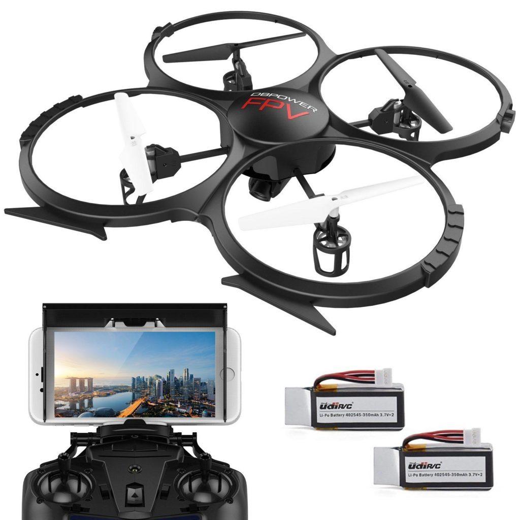 Regali di natale per fotografi: Drone DBPower