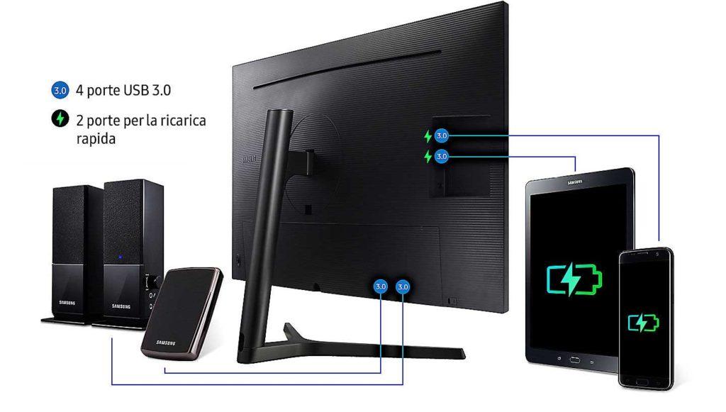 Samsung U32H850 Connettivita