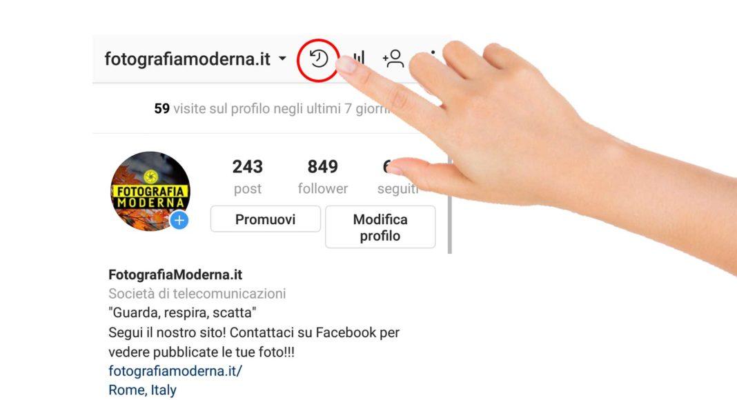 Archivio Instagram, come funziona