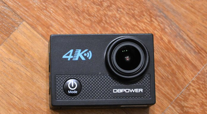 DbPower 4k, action cam