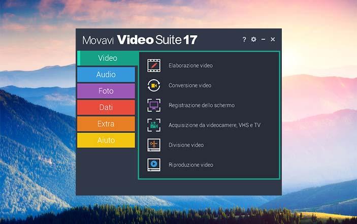 Movavi software editing video