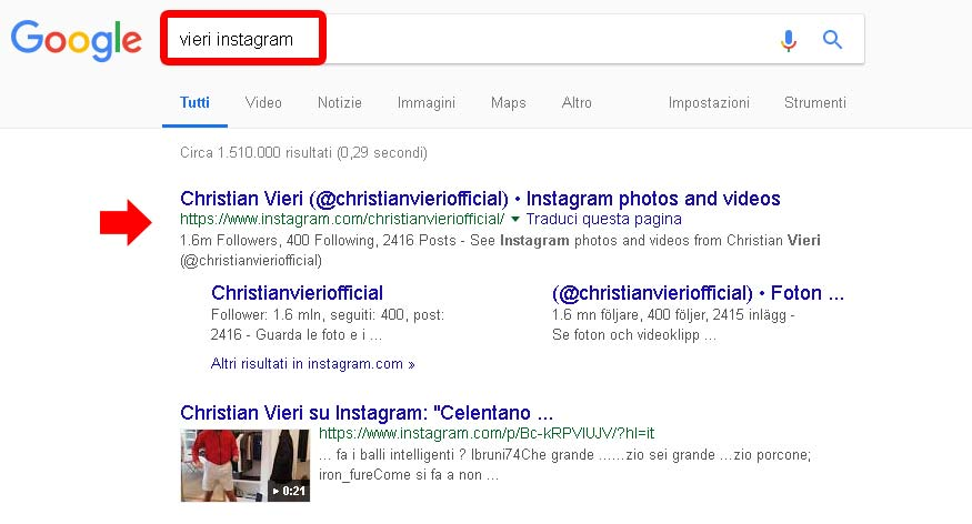 Accedere a Instagram senza account