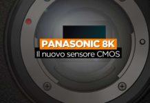 Panasonic 8k CMOS Sensore
