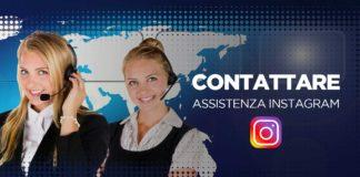 Contattare servizio Assistenza Instagram