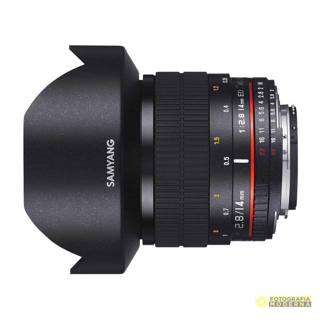 Samyang 14mm f/2.8 Recensione