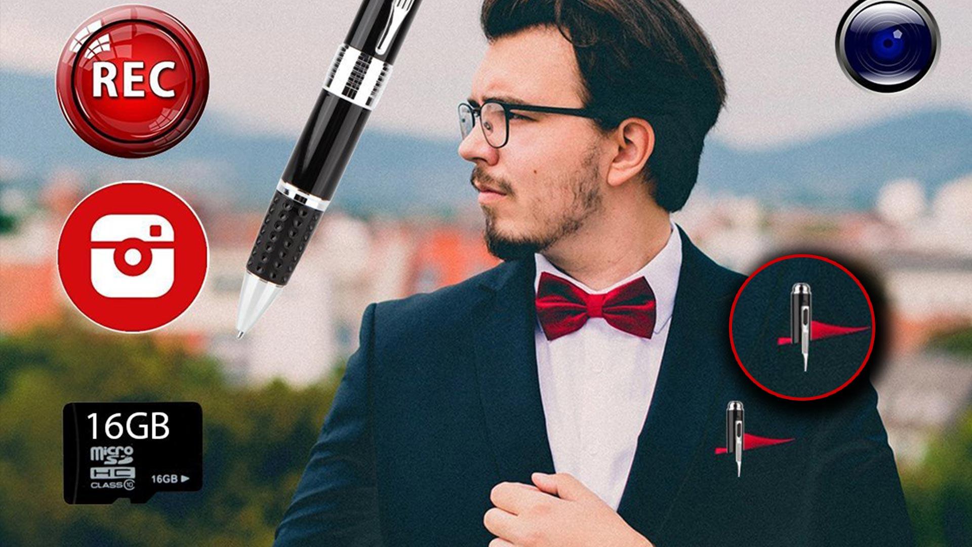 Telecamera Nascosta In Oggetti : Migliori penne con telecamera nascosta la classifica