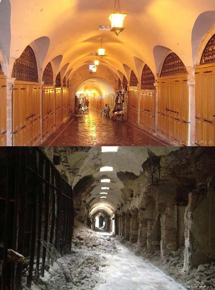 I vecchi mercati di Aleppo